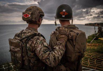 2nd Ranger Battalion At Pointe Du Hoc 2019