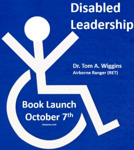 Author of Disabled Leadership ISBN-10: 1694324672